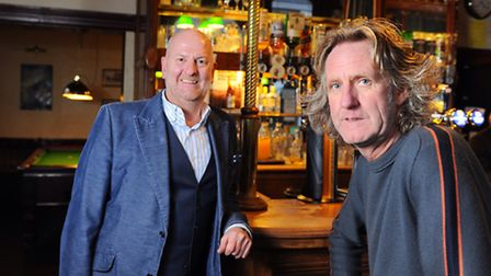 Russell Evans and John Linford, new landlords of the York Tavern on Leicester Street in Norwich.Pict
