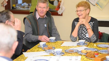 A new Dementia Cafe opens in Attleborough Day Centre Picture by: Sonya Duncan