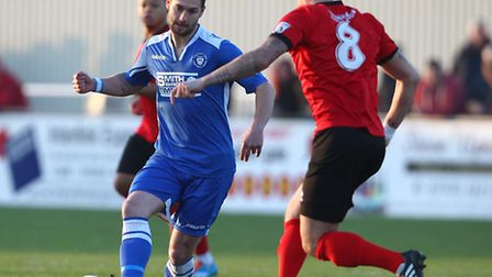 Jack Ainsley scored two penalties in Lowestoft's win over Chorley.