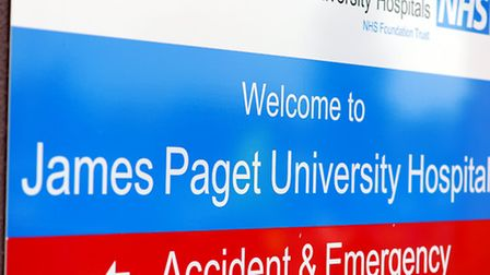 The James Paget University Hospital at Gorleston. Picture: James Bass.