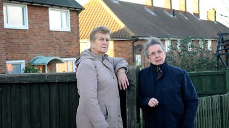 Residents of Shipden Avenue, Cromer, are fed up with the mysterious noises and vibrations in their h