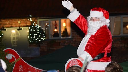 The switching on of the Swaffham Christmas lights. Picture: Ian Burt