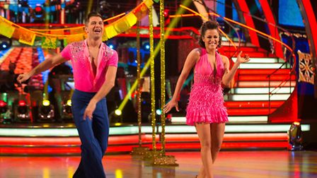 Norfolk's Caroline Flack is competing in the Strictly Come Dancing final this weekend. Photo: Guy Le