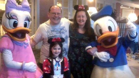 Lesley Cawthorne is a Disneyland expert on Tripadvisor. Picture: Supplied