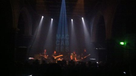 The Maccabees at the Norwich Arts Centre on Sunday.