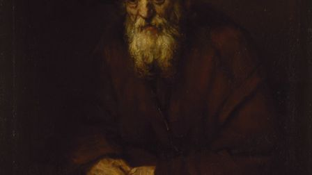 Rembrandt's 'Old Jew in an armchair' is one of the works coming to the Sainsbury Centre in the new y