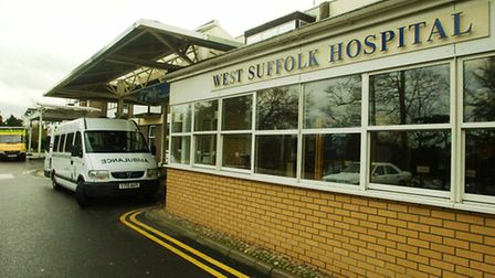 West Suffolk Hospital In Bury St Edmunds where moors murderer Myra Hindley, 60, was admitted with a