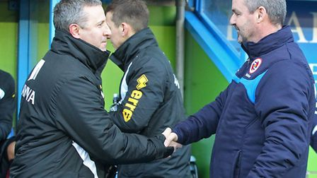 Norwich manager Neil Adams has sufferd twice at the hands of Reading in recent weeks. Picture by Pau