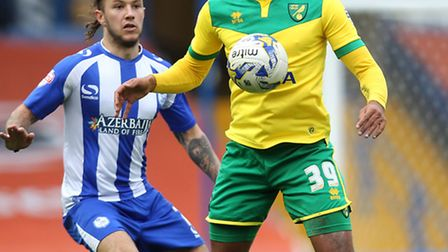 Vadis Odijdja-Ofoe has been ruled out of Norwich City's festive Championship push. Photo: Lynne Came