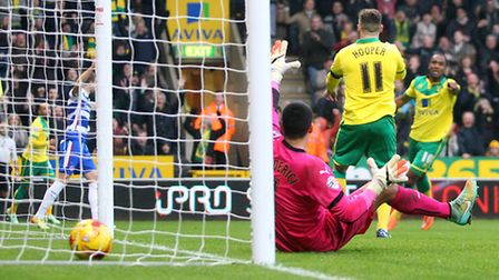 Gary Hooper has scored twice in Norwich City's last two games. Picture by Paul Chesterton/Focus Imag