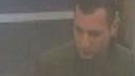 A CCTV image of one of the people police would like to talk to after a fight in Stalham on October 2