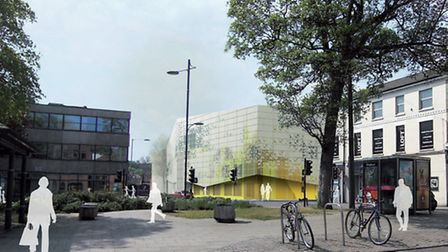 An artist's impression of the proposed £7m car park in Rose Lane/Mountergate. Pic: Submitted.