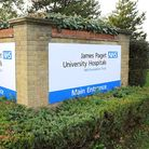 The James Paget University Hospital at Gorleston. Picture: James Bass