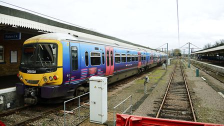 Services to and from King's Lynn have been disrupted for the third day running. Picture: Ian Burt