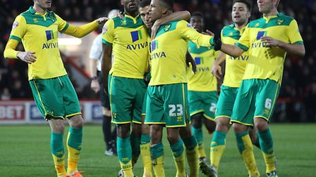Cameron Jerome got Alex Neil's Norwich City reign off to a perfect start at Bournemouth.. Picture by