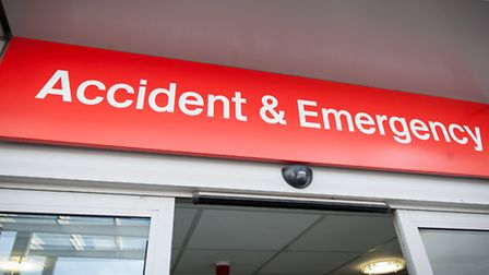 The N&N's new urgent care centre attached to the accident & emergency unit. Photo: Bill Smith