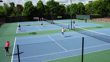 The plans show there is demand for an indoor tennis centre and more football pitches. Picture: Simon