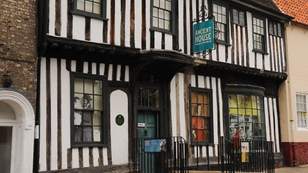 Thetford's Ancient House Museum. Picture: Denise Bradley