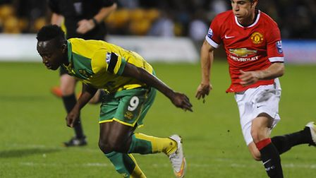 Norwich City striker Jamar Loza is the latest Canaries loanee after joining League One Yeovil. Pictu