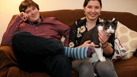 Adam Gedge, 28, and his wife Aimee, 25, are young professionals living in the north of the Norwich w