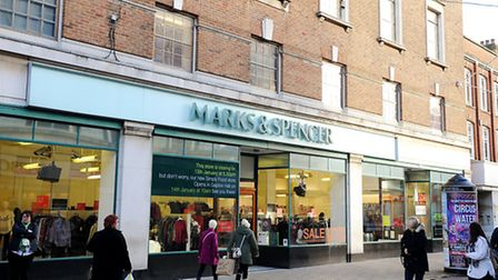 Marks and Spencer closing down its store in Great Yarmouth town centre.Picture: James Bass