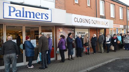 The Palmers store in Dereham is closing down. Picture: Ian Burt