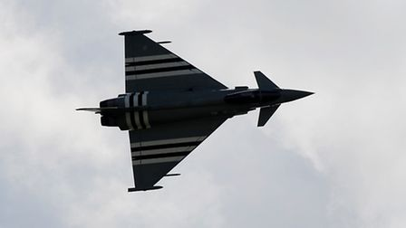 A Typhoon, similar to the jet involved in the near-miss near Great Ryburgh.