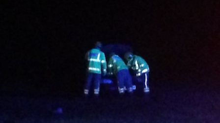 Police were called to a two-vehicle road traffic collision on the A140 near Pulham Market. Photo: Mi