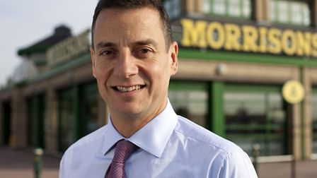 Undated handout file photo issued by Morrisons of their CEO Dalton Philips, as the supermarket annou