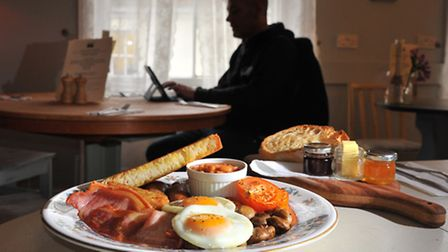 The Fry Up Inspector, the anonymous blogger who has reviewed more than 300 fry-ups in Norwich and ac