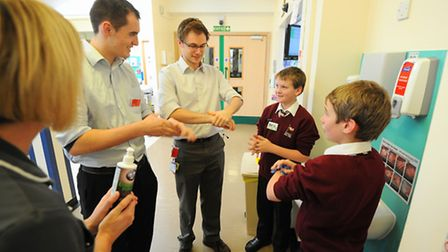Children's Commissioners Take Over Day at the James Paget University Hospital. Picture: James Bass