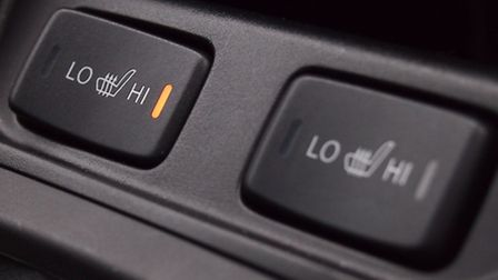 The thought of heated seats leaves motoring editor Andy Russell cold.
