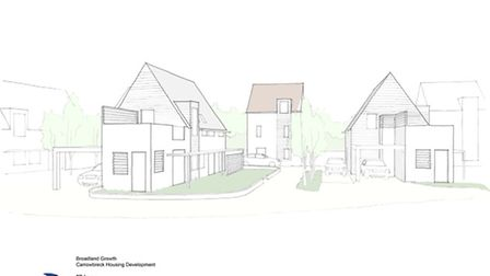 Hellesdon Housing Development. Picture submitted.