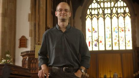The Rev Dr James Porter who is returning to Cromer as vicar having previously been curate in the tow