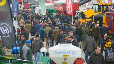 The 2015 LAMMA farm machinery show at the East of England showground