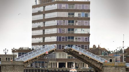 Havenbridge House and Haven Bridge, Great Yarmouth.Photo: Andy Darnell