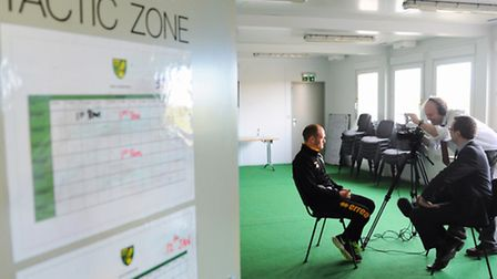 Alex Neil has wasted no time getting down to work at Norwich City. Picture: Denise Bradley