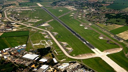 EADT; Mike Page Aerial Photo Library; RAF Mildenhall USAF airfield; PICTURE COPYRIGHT MIKE PAGE - PI