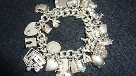 More than £10,000 worth of jewellery was stolen from a home in Acle. Among the items was this ladies