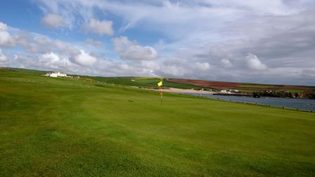 Links course in South Devon