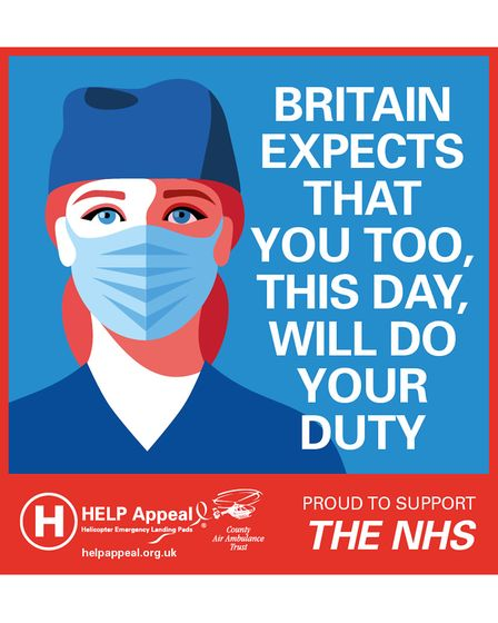 HELP Appeal's Britain Expects That You Too, This Day, Will Do Your Duty artwork