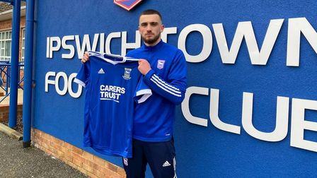 Ipswich Town have signed Troy Parrott on loan until the end of the season