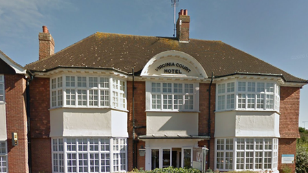 The exterior of the Virginia Court Hotel in Cromer