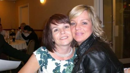 Lynne Grimes and her sister Susan