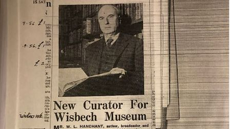 Professor Keith Rix isworking on a biography of Wilfred Hanchant who was curator of the Wisbech and Fenland Museum from...