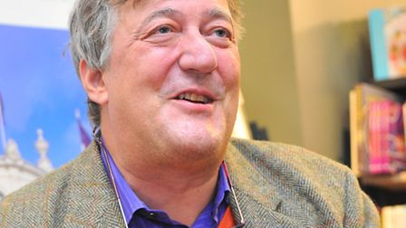 Stephen Fry. Picture: Simon Finlay