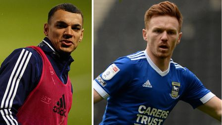 Kayden Jackson and Jon Nolan have been linked with moves away from Ipswich Town