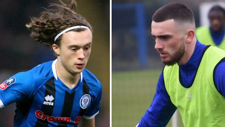 Ipswich Town have signed Luke Matheson and Troy Parrott on loan for the rest of the season