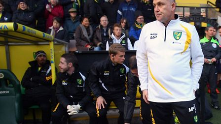Mike Phelan is on Norwich City's shortlist as the Canaries' search for their new manager. Picture by