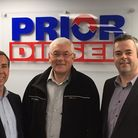 Great Yarmouth firm Prior Diesel has been bought by Irish firm Suretank. Photo from left to right: C